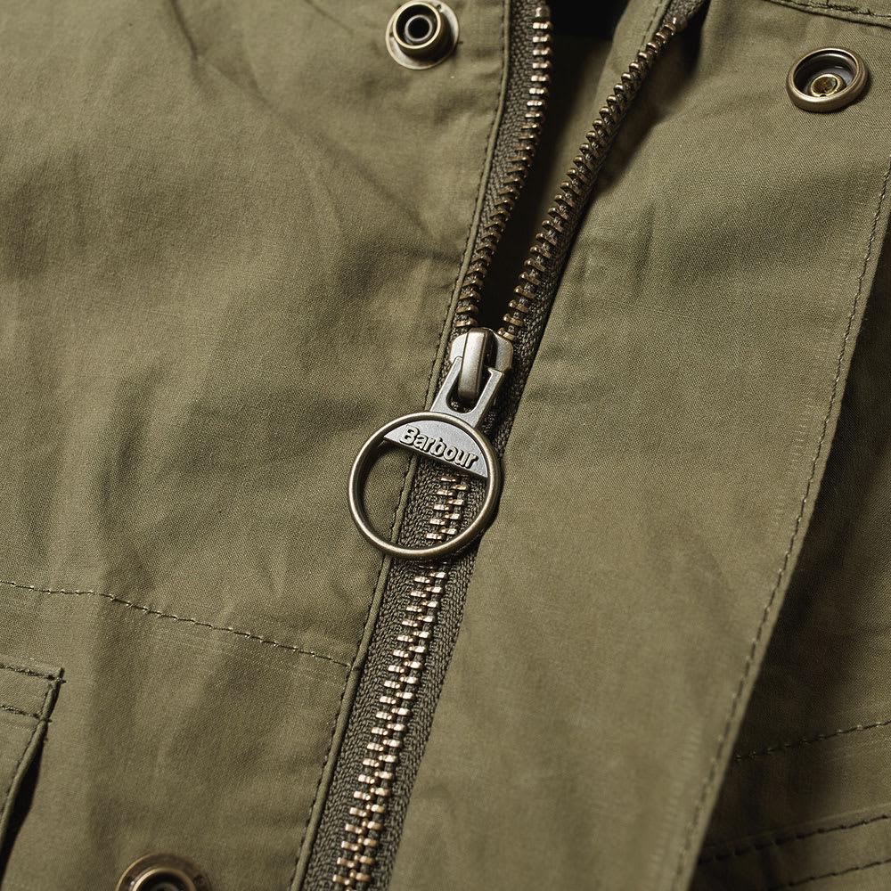 6f66e9cbc89d2 Barbour x Engineered Garments Arthur Gilet Olive | END.