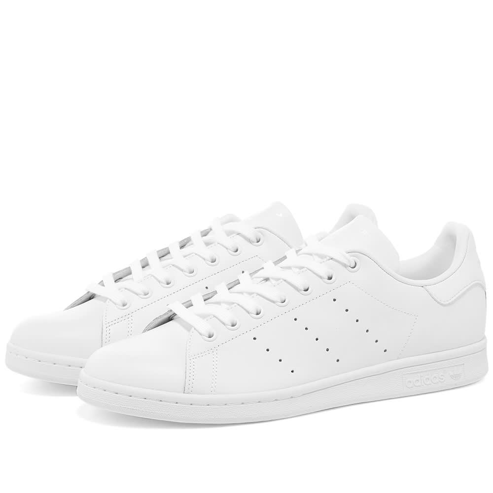 líder También Apariencia  Adidas Stan Smith Triple White | END.