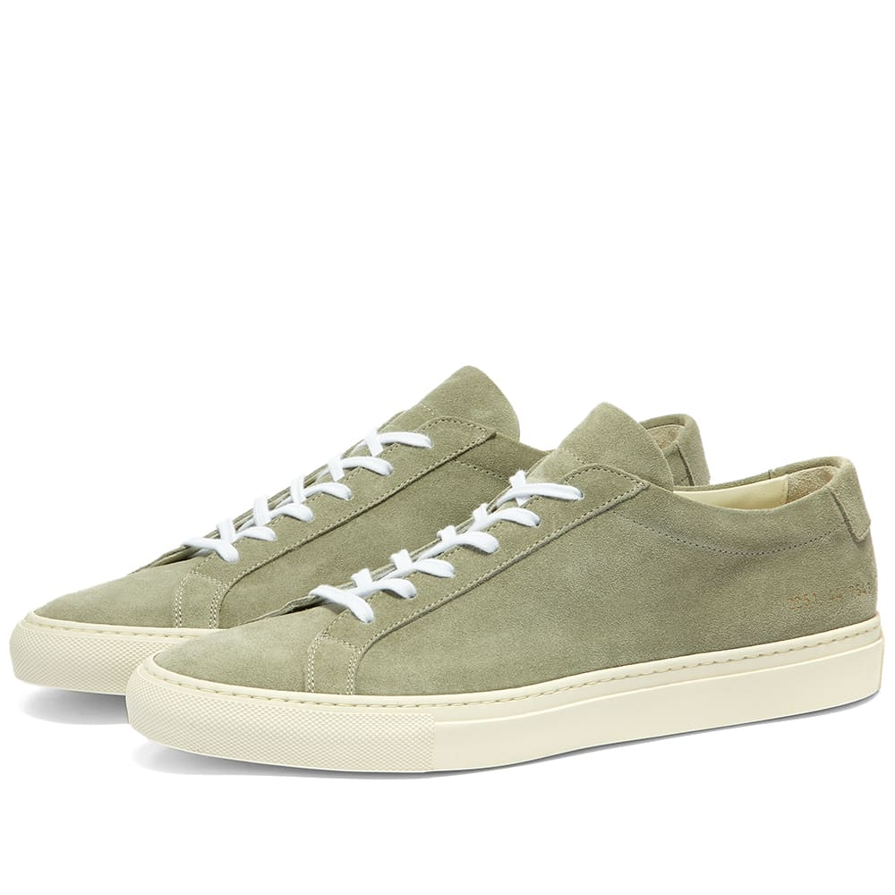 Common Projects Common Projects Original Achilles Low Suede Contrast Sole