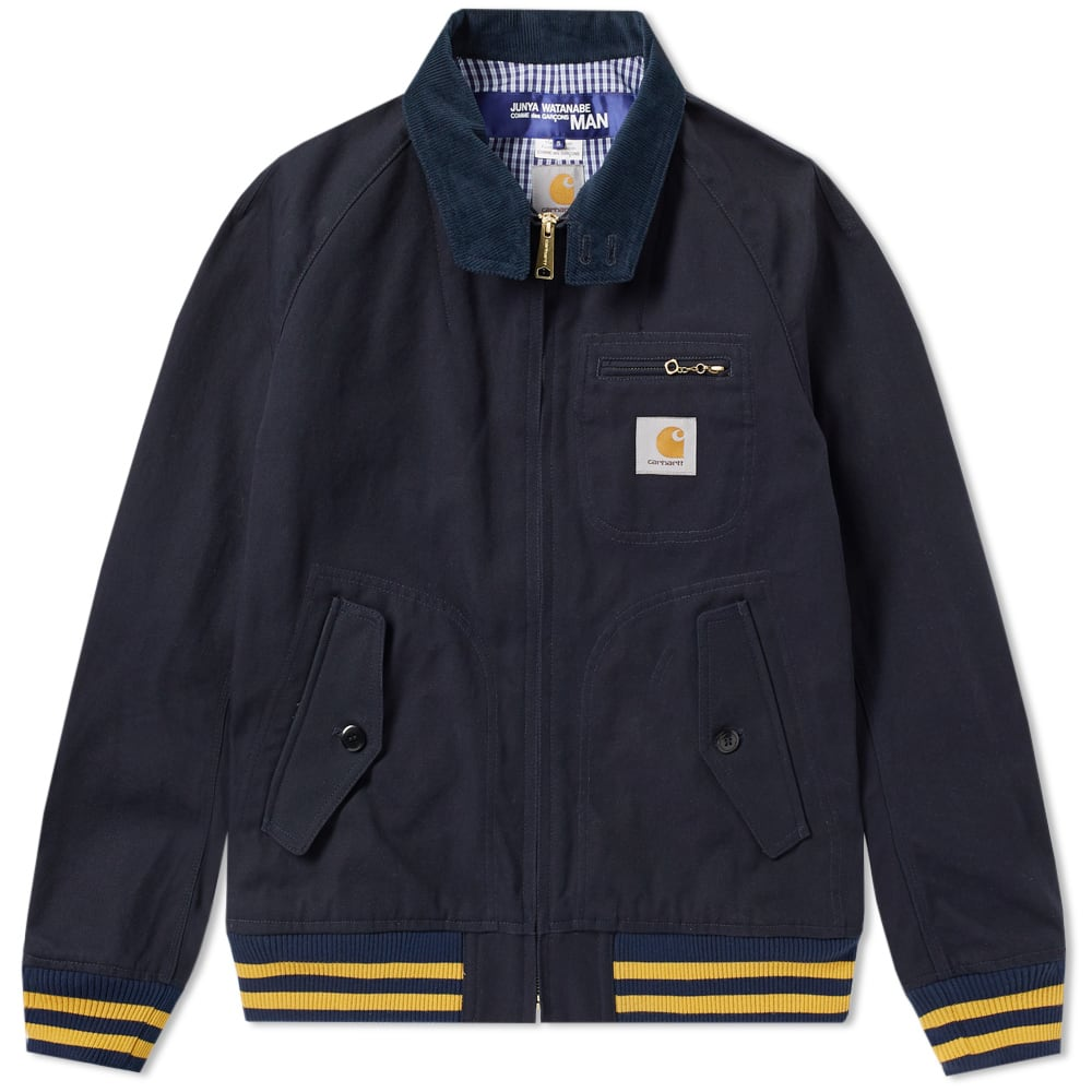 JUNYA WATANABE MAN X CARHARTT DUCK HARRINGTON JACKET