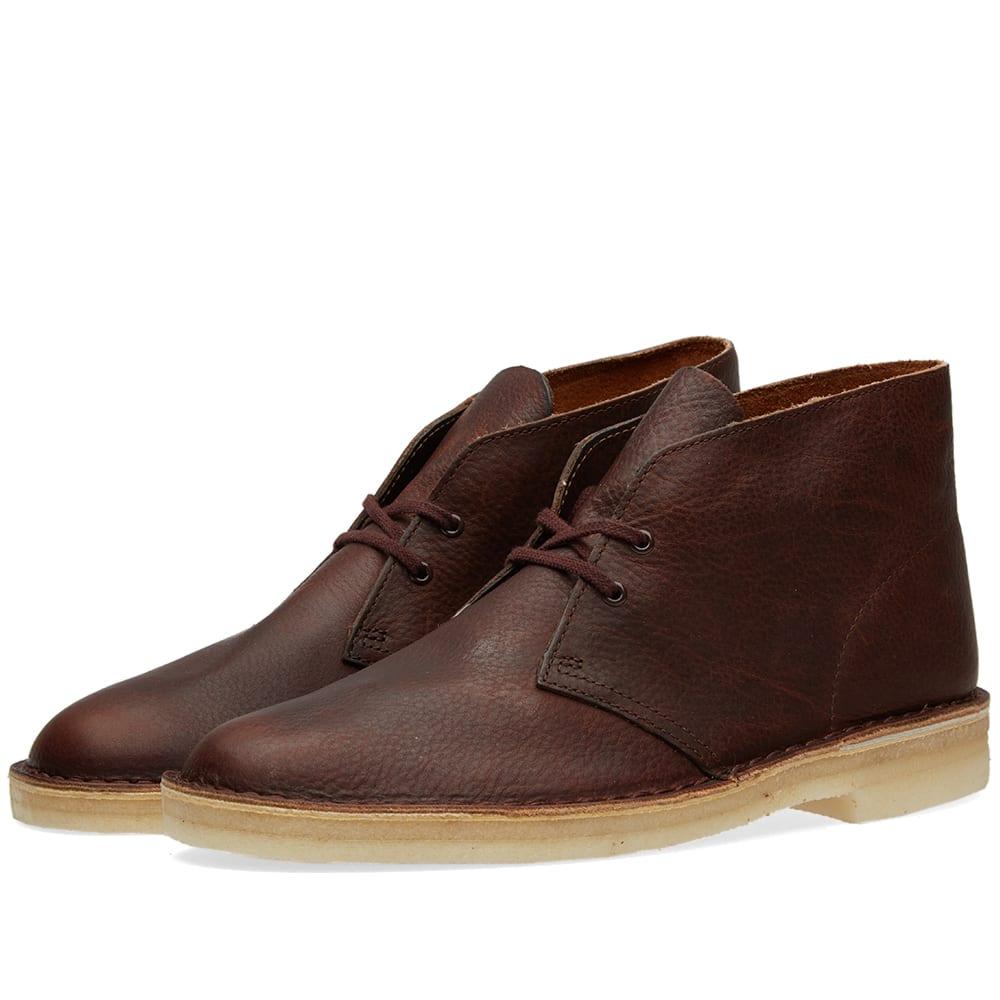 clarks originals desert boot rust leather. Black Bedroom Furniture Sets. Home Design Ideas