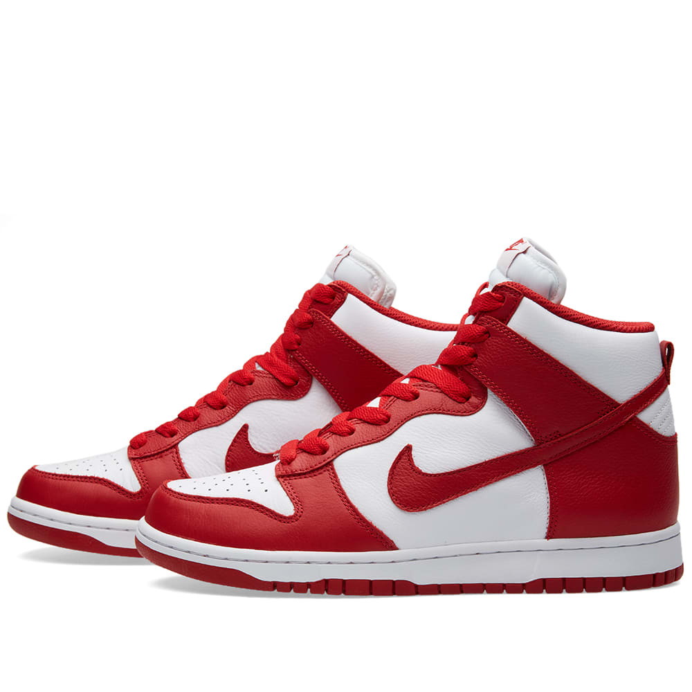 Canada Import Tax >> Nike Dunk Retro QS (White & University Red)
