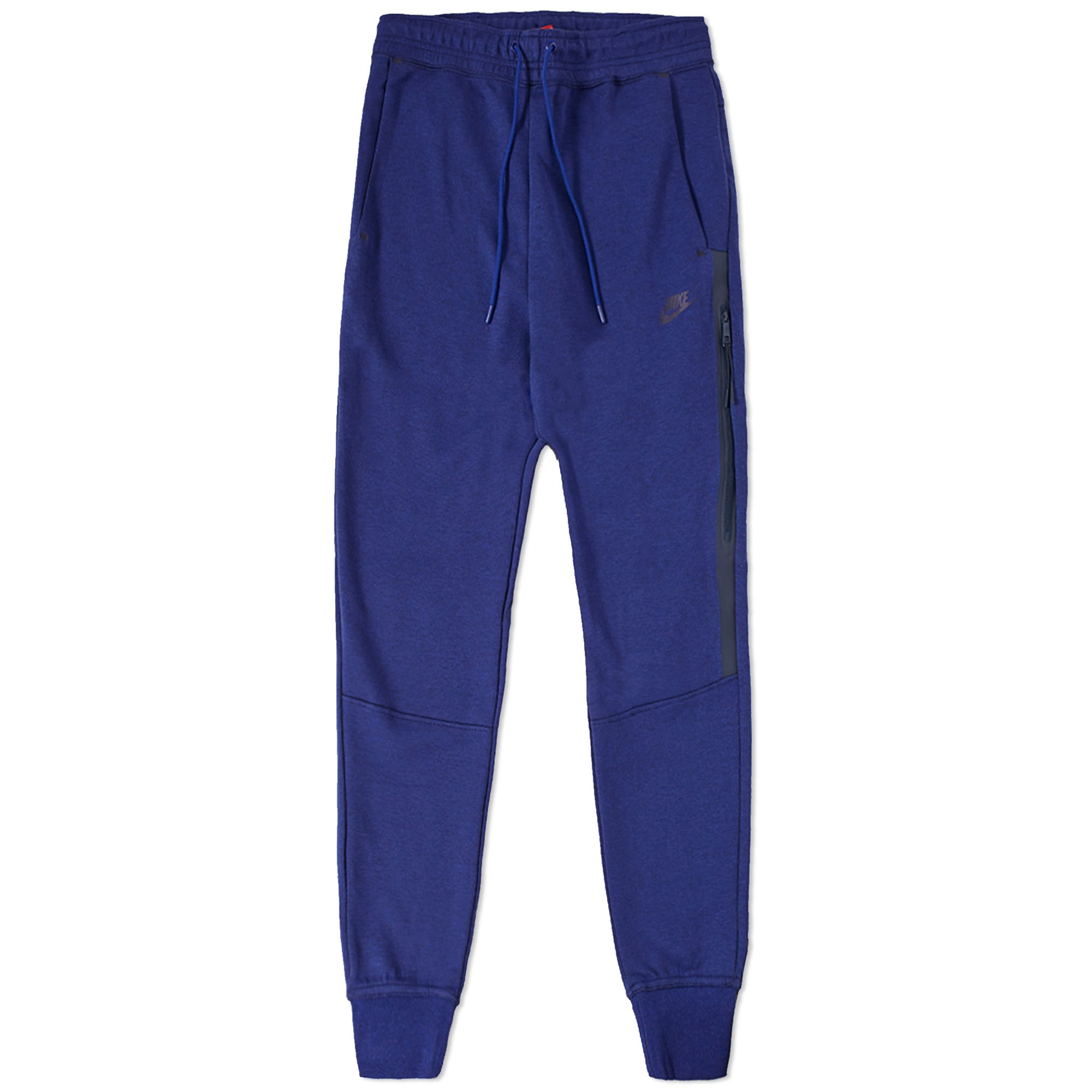 Wonderful Royal Blue Jersey Pants Elastic Waist Womens Trousers Extra Large Size