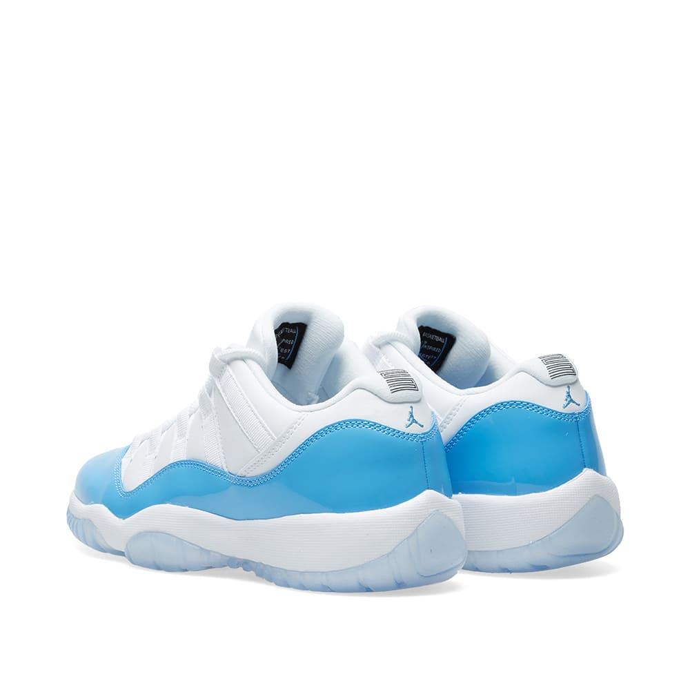 908032637c8dbe Nike Air Jordan 11 Retro Low BG White   University Blue
