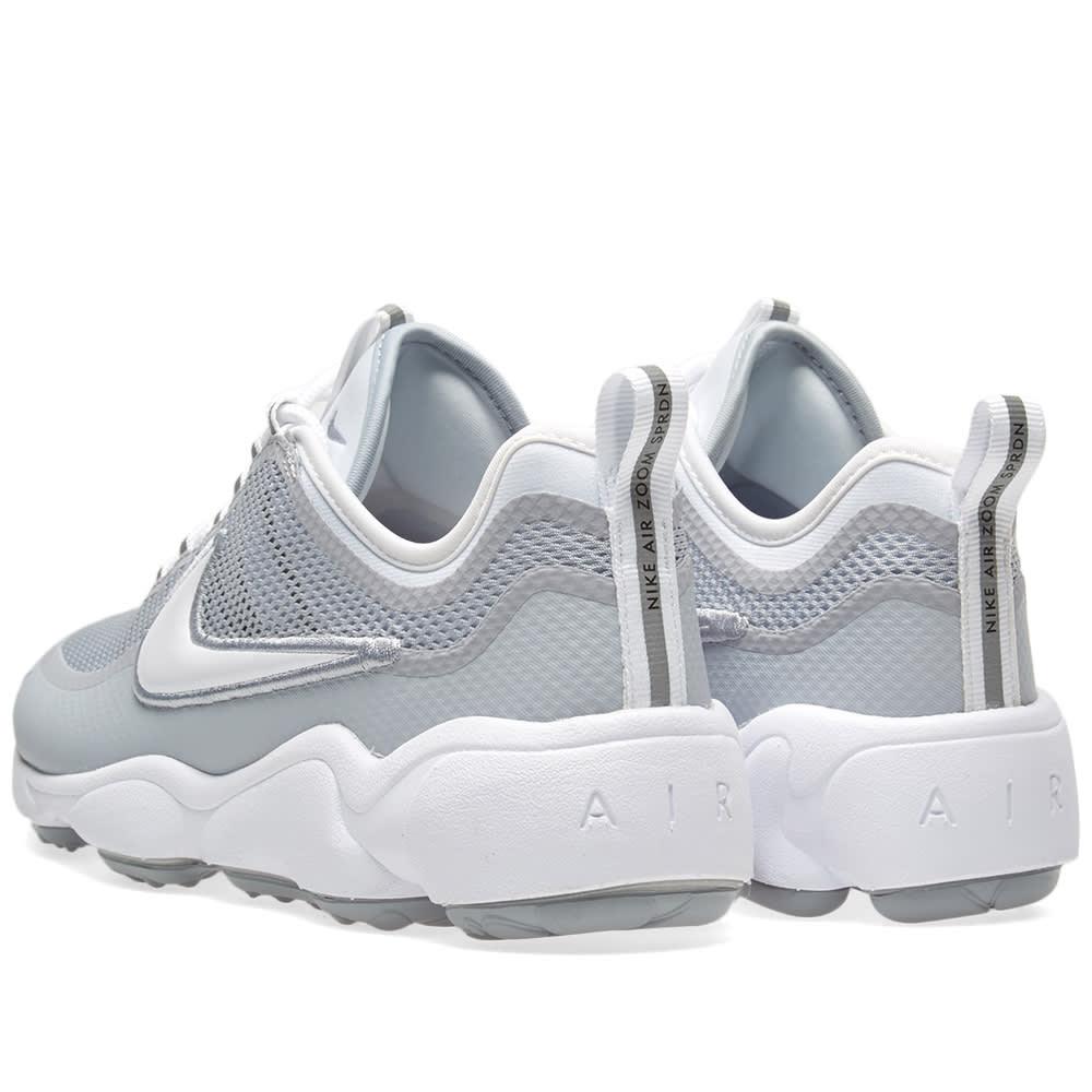 b377f644d20bb Nike Air Zoom Spiridon Ultra White   Wolf Grey