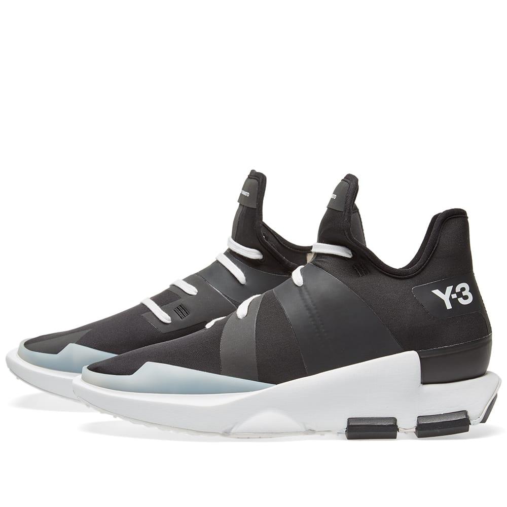 separation shoes 8393b f2fcb Y-3 Noci Low Core Black   Crystal White   END.