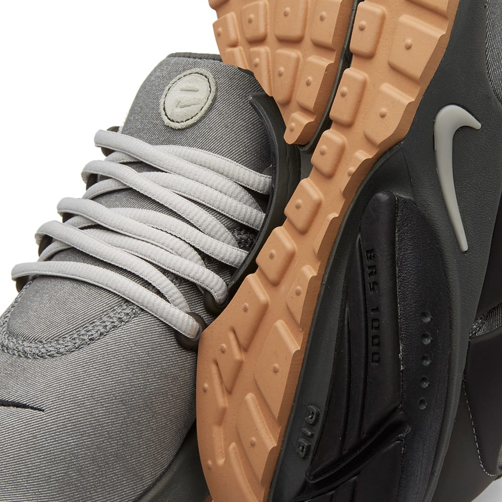 Nike Air Presto Premium Tumbled Grey Amp Granite