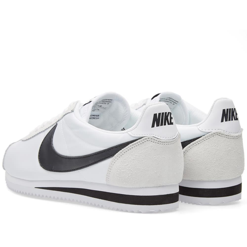 classic fit 7eb23 5b1f1 Nike Classic Cortez Nylon OG White, Black   Light Bone   END.