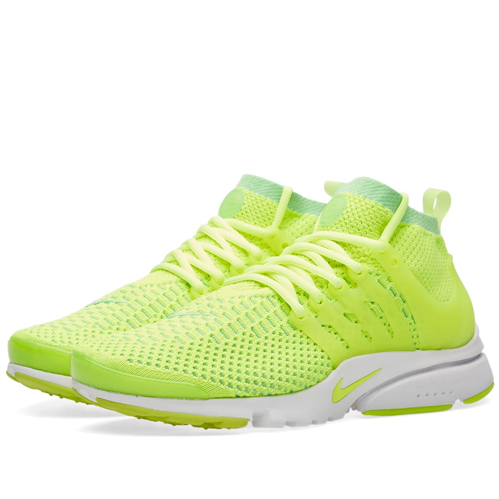 differently f6e5c 732ab Nike W Air Presto Ultra Flyknit Voltage Green   END.