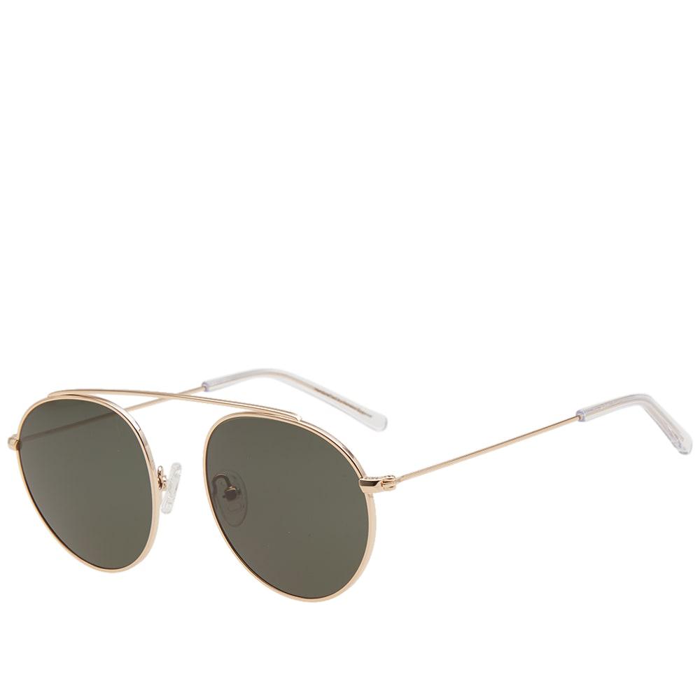 MONOKEL Monokel Iota Sunglasses in Gold
