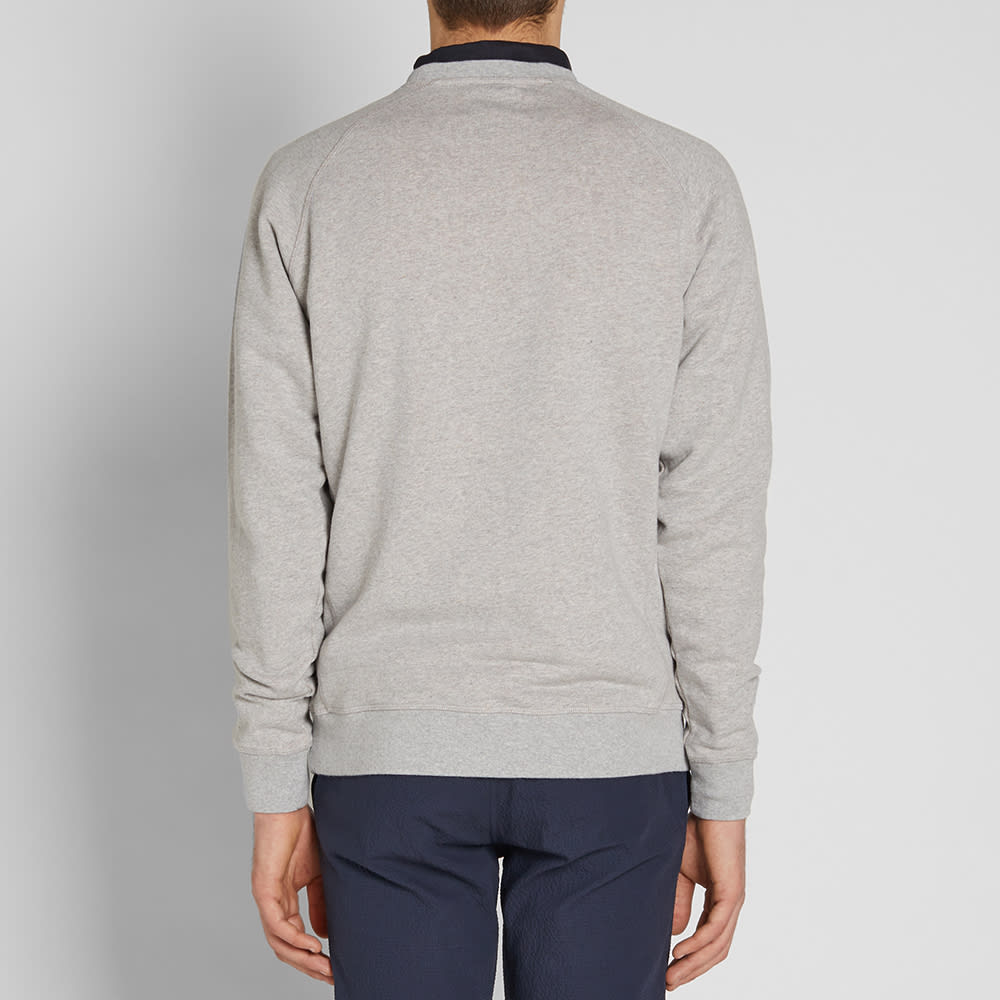 d8df0580f67 Norse Projects Ketel Double Face Crew Sweat Light Grey Melange | END.