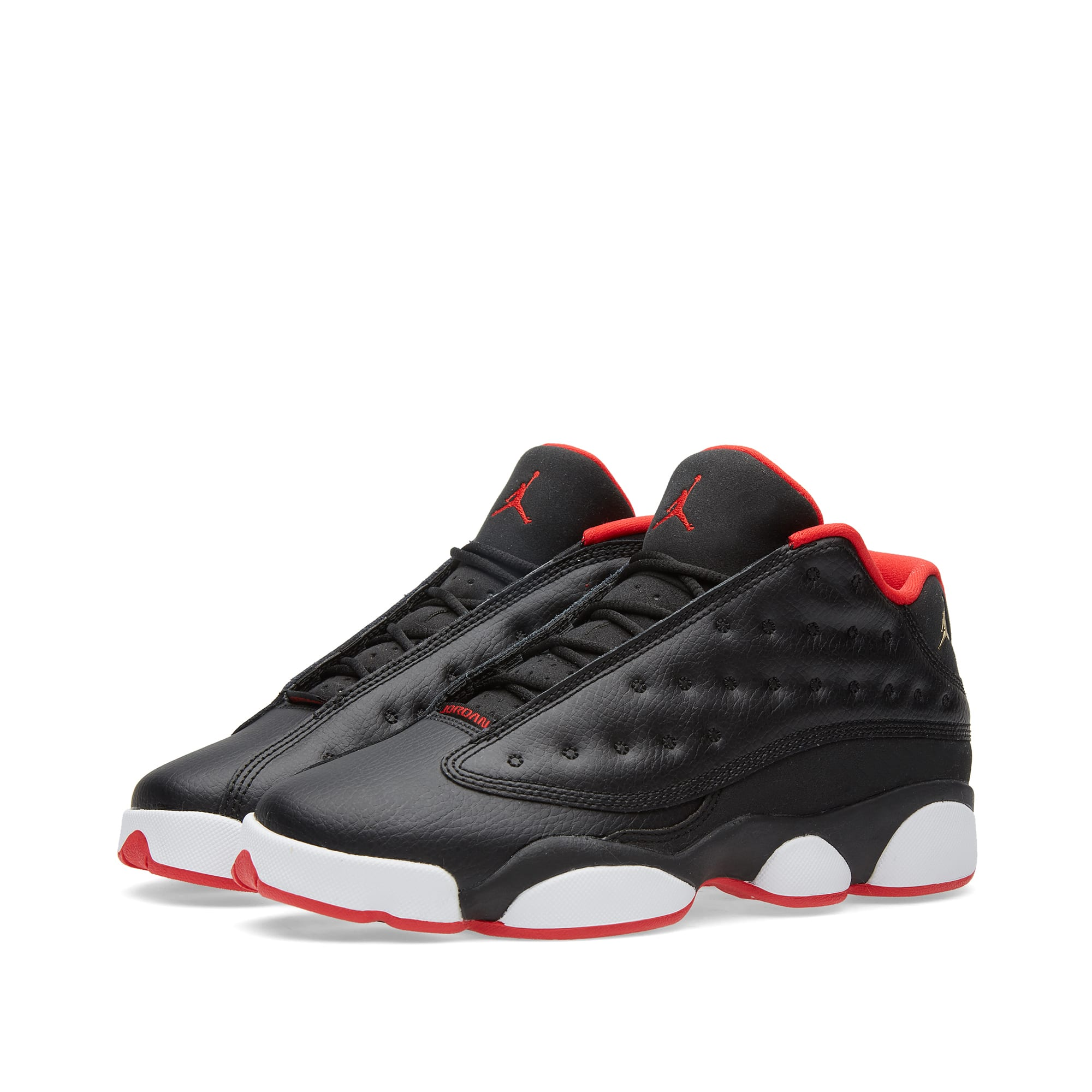 pretty nice 67856 2d57d Nike Air Jordan XIII Retro Low BG  Bred  Black   University Red   END.