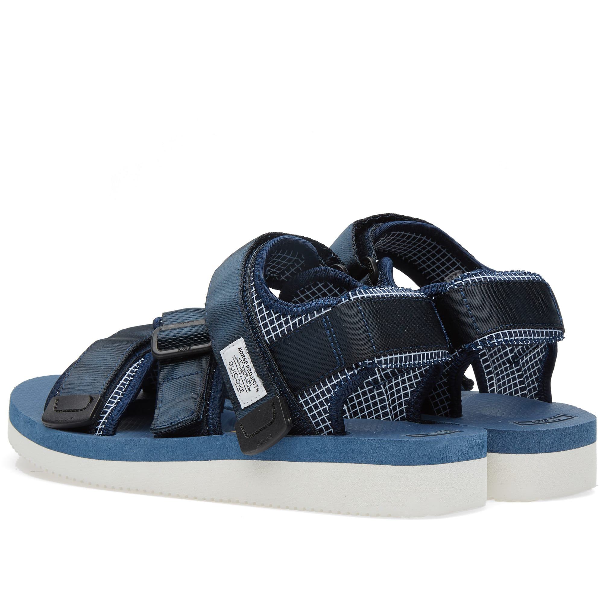 ca673276829 Norse Projects x Suicoke Sandals Dark Navy | END.
