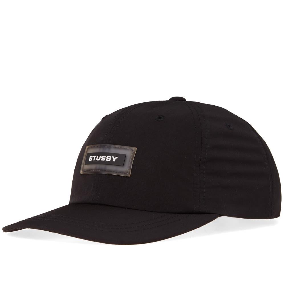 b78700563d9 Stussy NP Ripstop Low Pro Cap Black