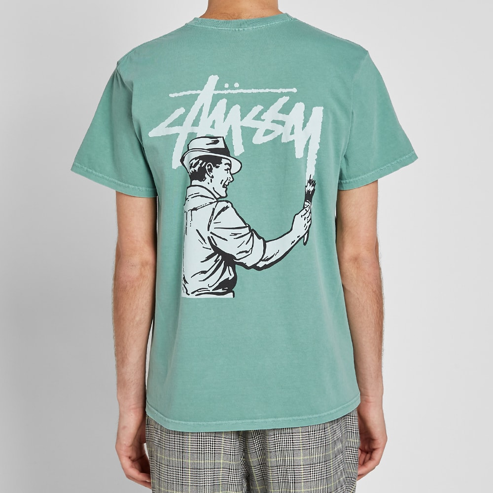 35114292 Stussy Pigment Dyed Painter Tee Sage | END.