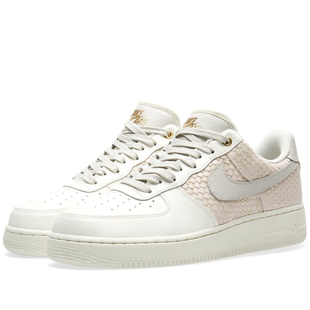best website 5826a 2f0af Nike Air Force 1 07 LV8 Sail, Bone   Metallic Gold   END.