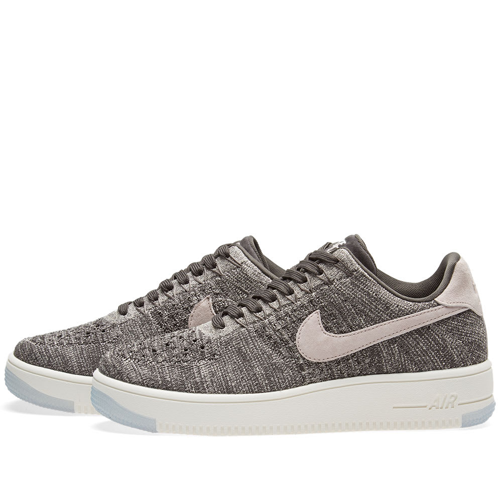 79357c127b82 Nike Air Force 1 Flyknit Low W Midnight Fog