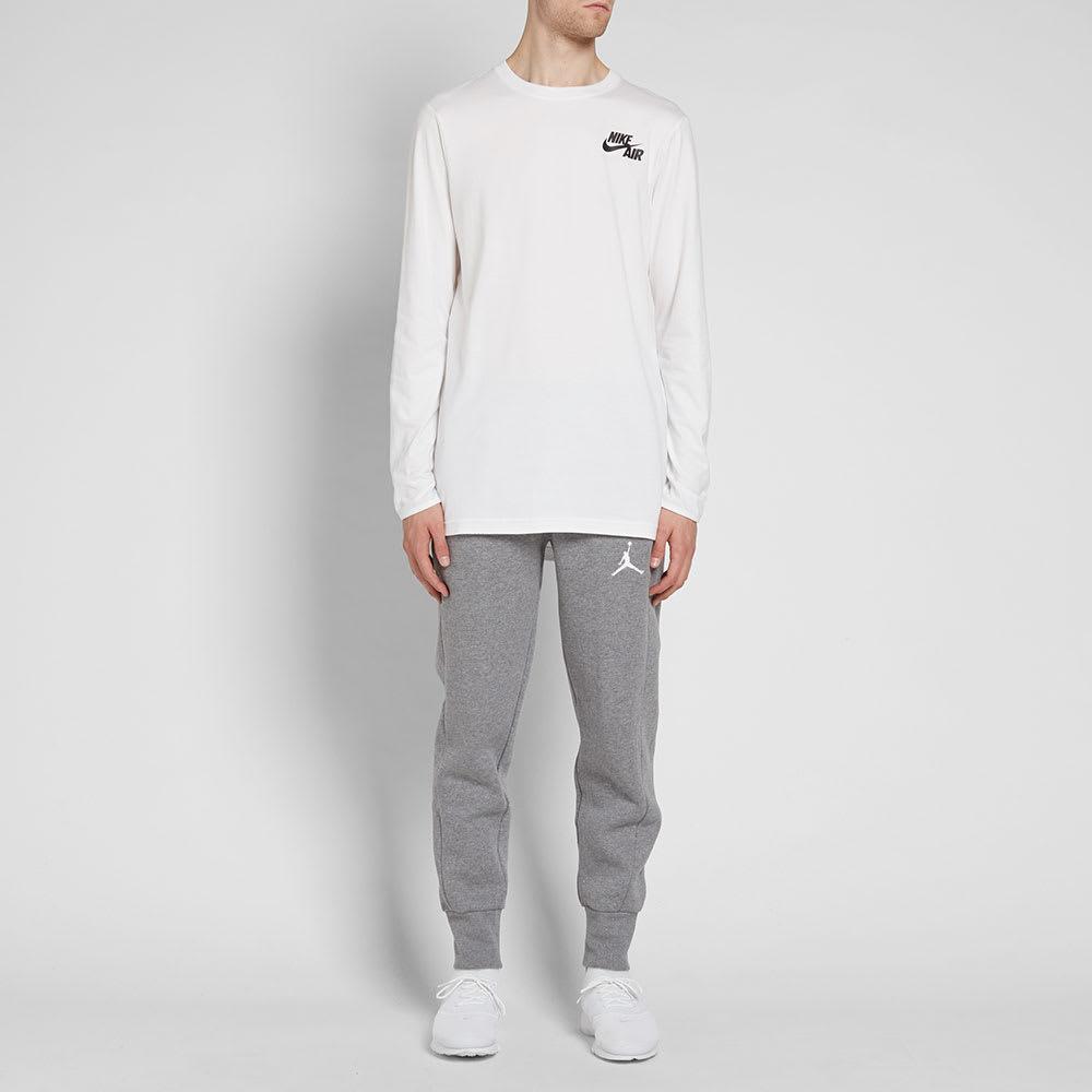 837b91c4c2dd76 Nike Jordan Flight Fleece Pant Carbon Heather   White