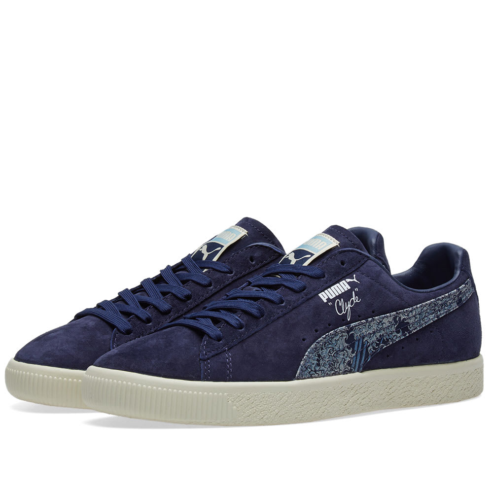 finest selection 1ad4a 1af45 Puma Clyde 'Marine Day'