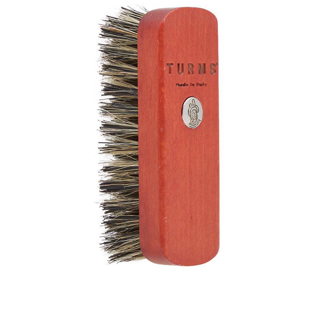 TURMS Turms Hard Bristled Shoe Brush in Red