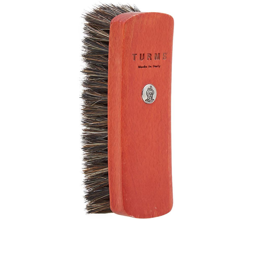 TURMS Turms Medium Shoe Brush in Red