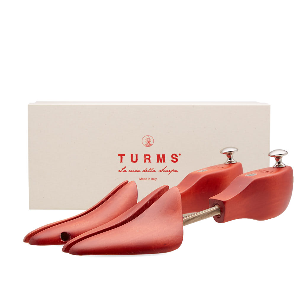 TURMS Turms Universal Shoe Tree in Red