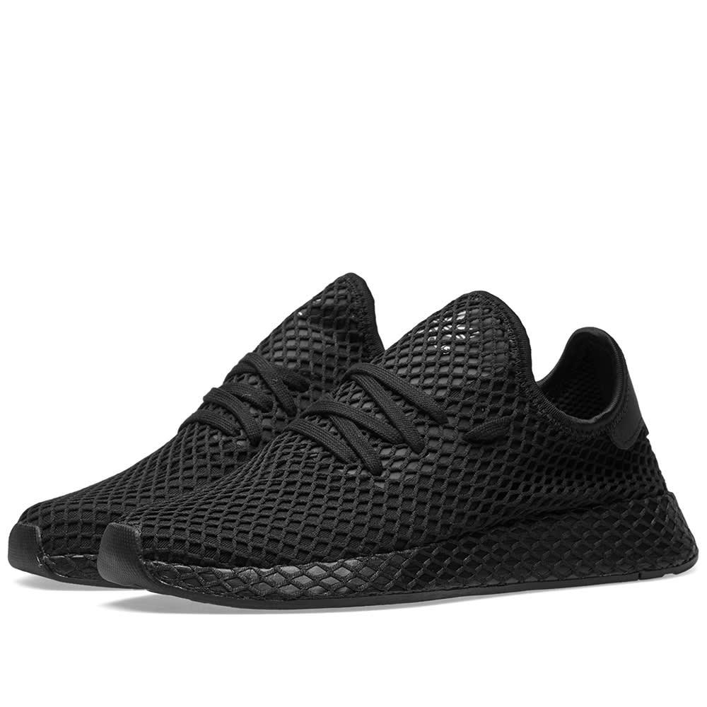 3df77638a Adidas Deerupt Runner Core Black   Future White
