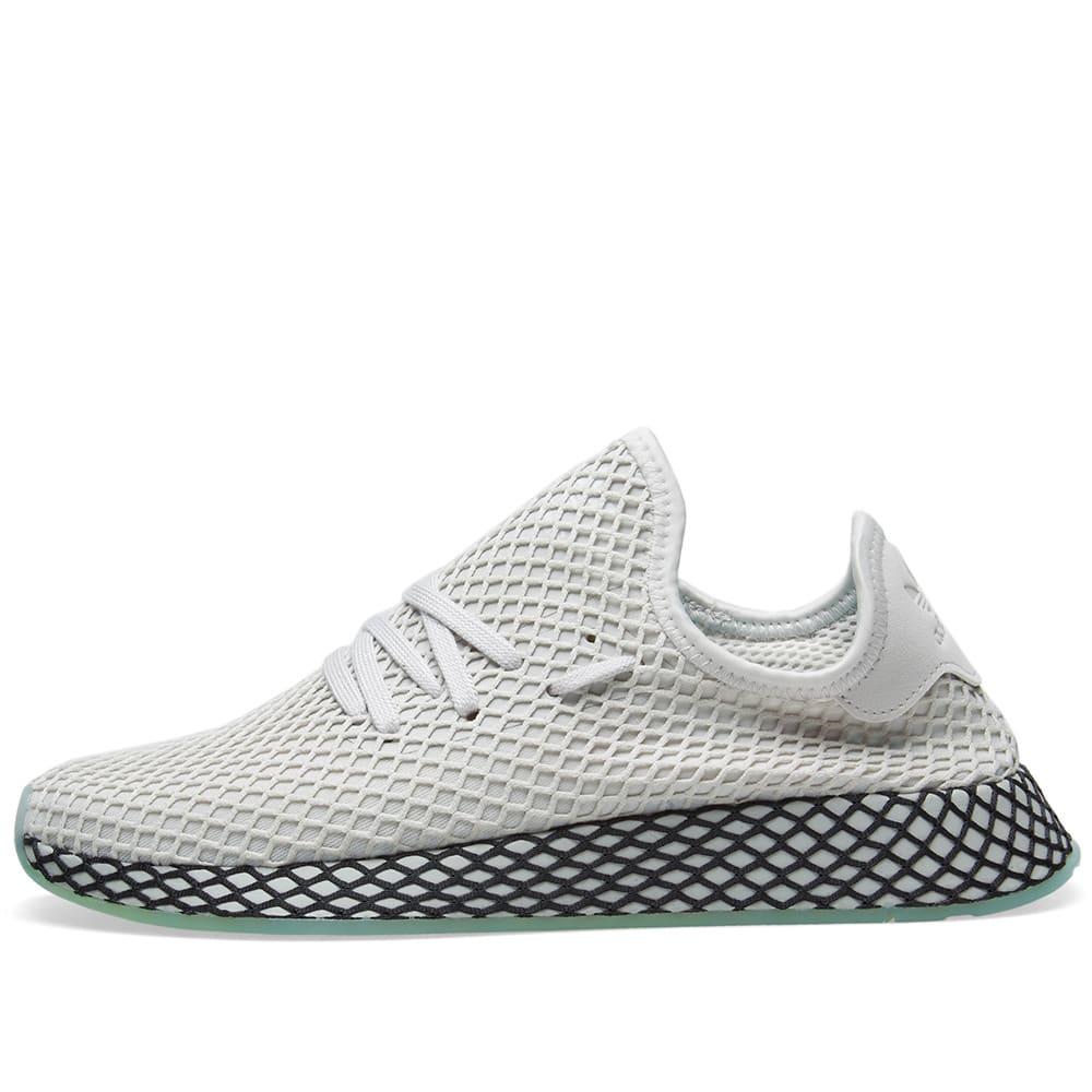 54ddee899 Adidas Deerupt Runner Grey   Clear Mint
