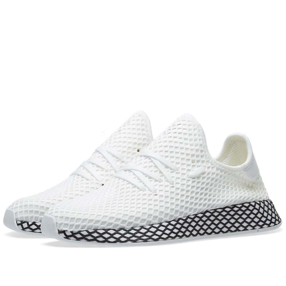 25e78d27 Adidas Deerupt Runner White & Core Black | END.
