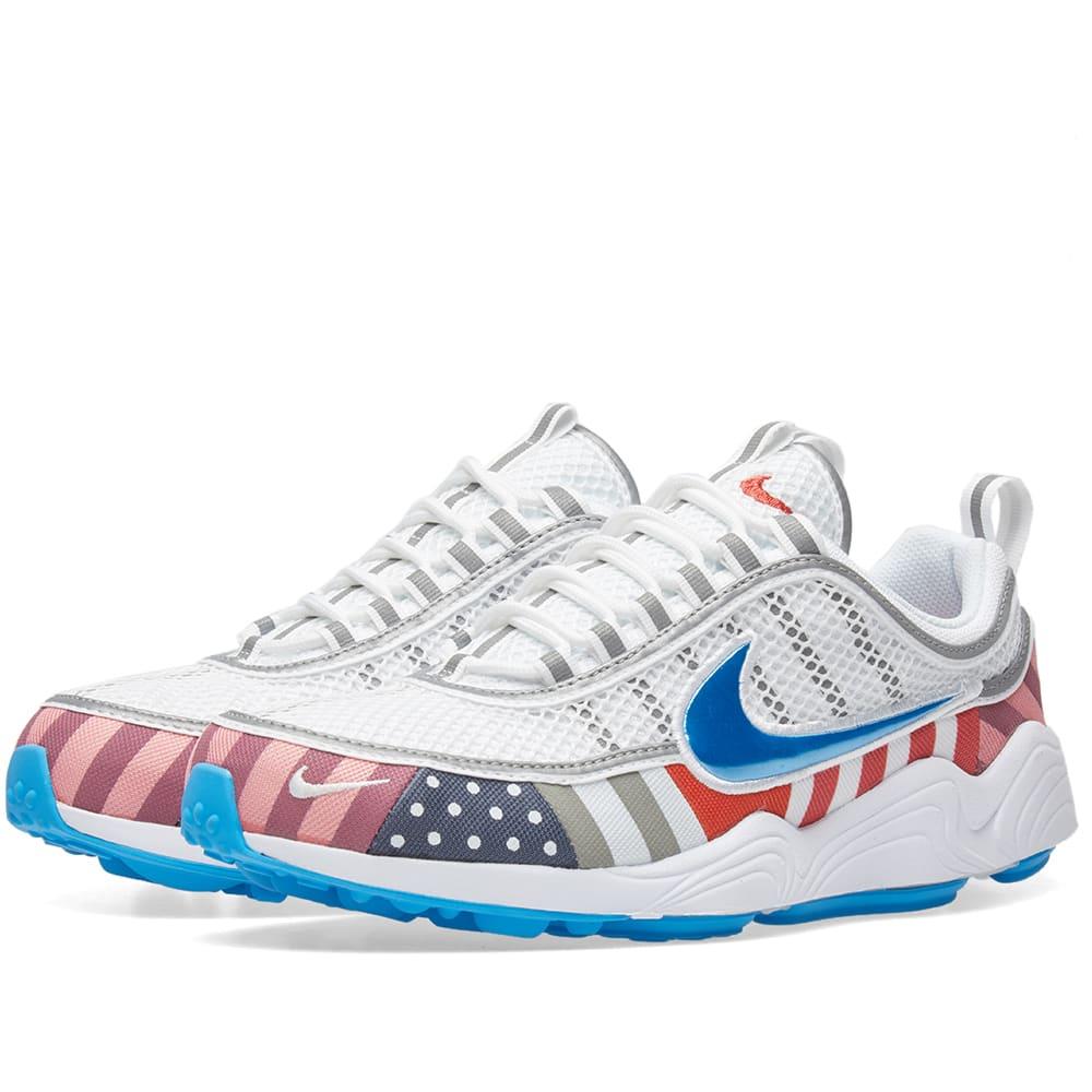 Nike x Parra Air Zoom Spiridon White
