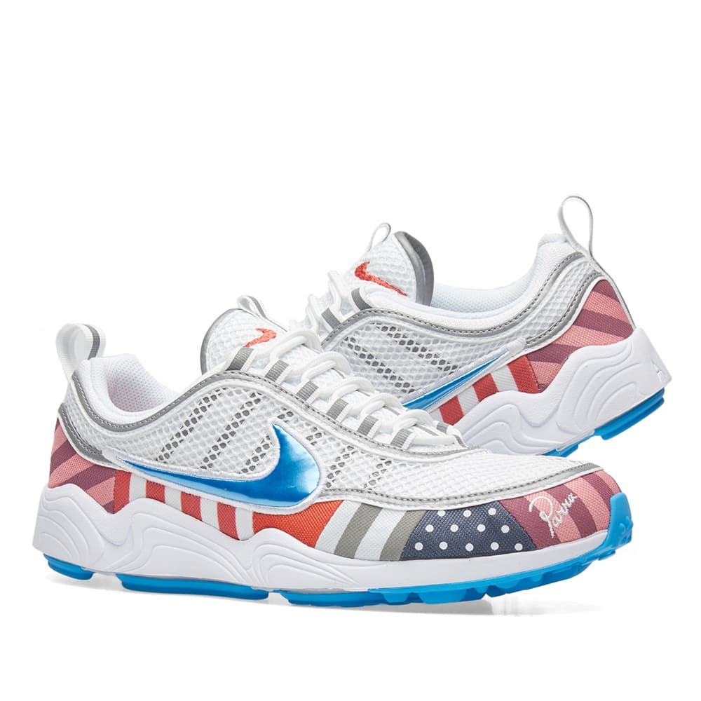official photos 57fe8 0233f Nike x Parra Air Zoom Spiridon