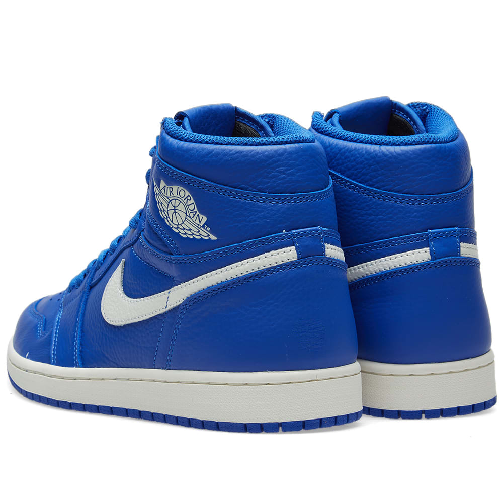 84e830585a79ff Air Jordan 1 Retro High OG Hyper Royal   Sail