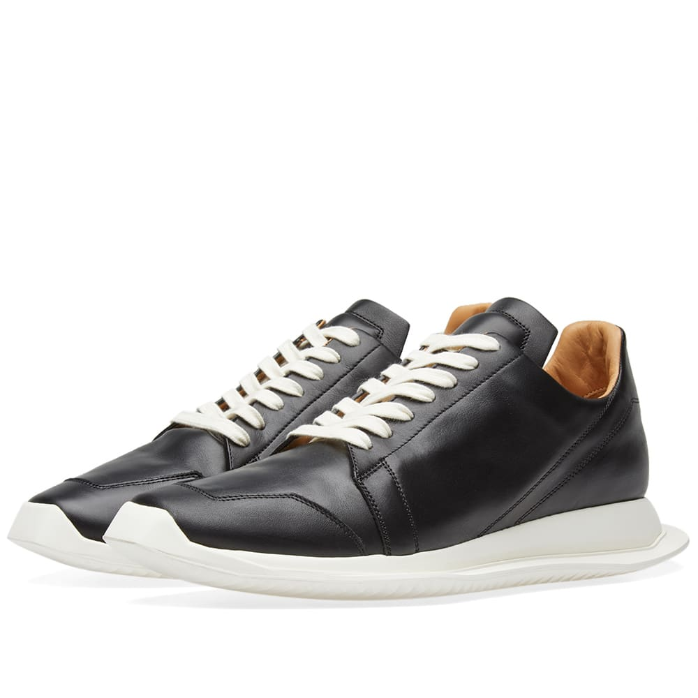 RICK OWENS OBLIQUE LACE UP RUNNER
