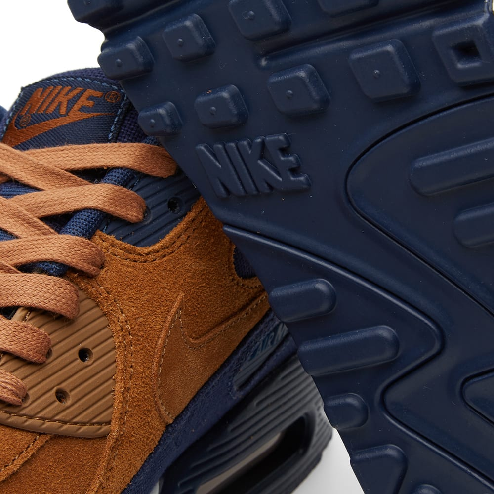 Michael Mccracken Offers Age Fighting Eye And Facial: Nike Air Max 90 Premium Ale Brown & Midnight Navy
