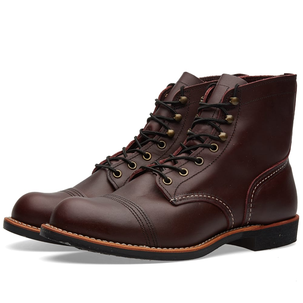 """RED WING 8119 HERITAGE 6"""" IRON RANGER BOOT"""