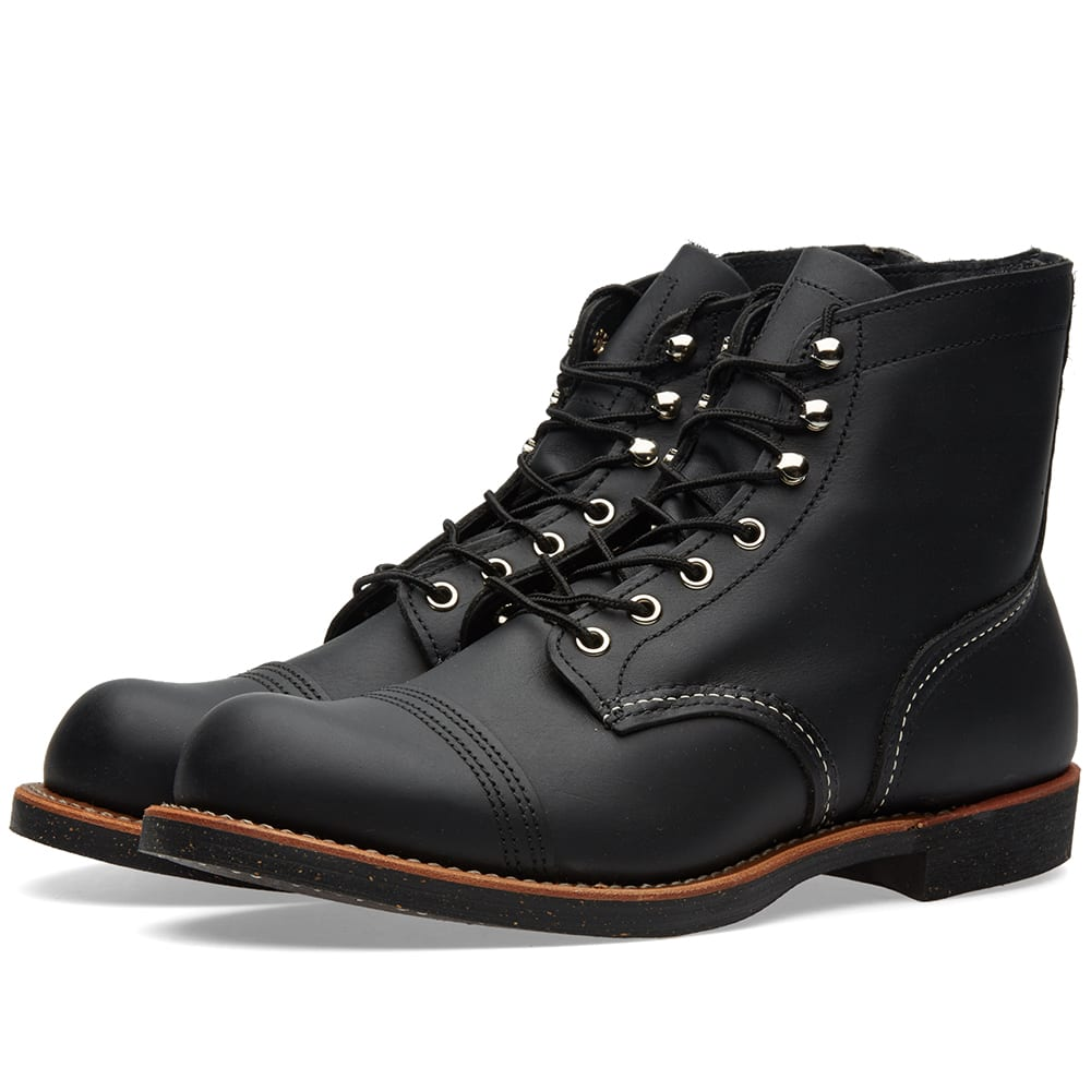 """RED WING 8114 HERITAGE 6"""" IRON RANGER BOOT"""