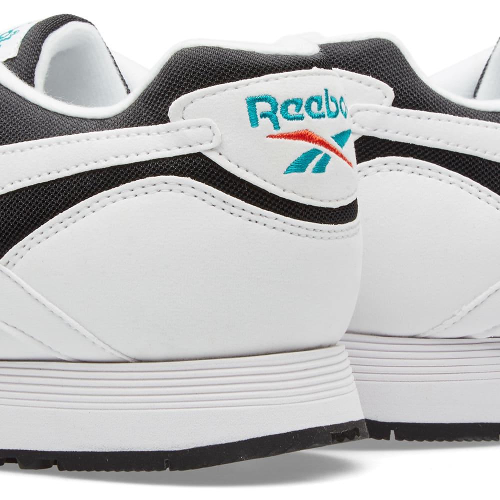 38df7bf3c138 Reebok Rapide OG Black, White & Teal Gem | END.
