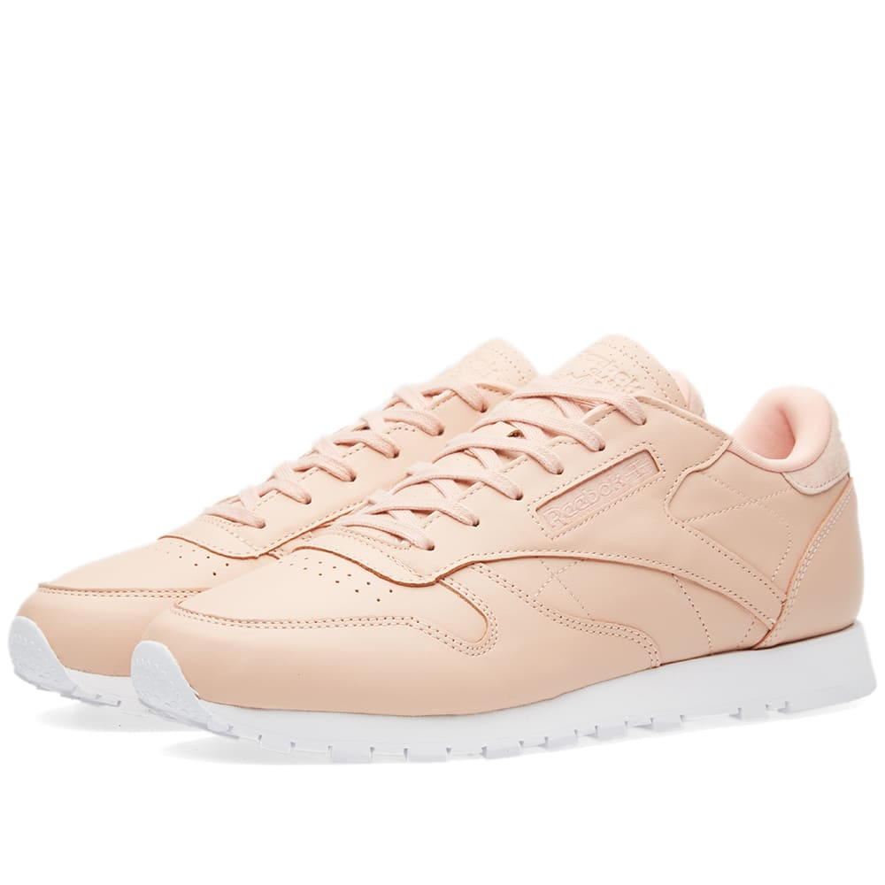 pretty nice ad844 c2419 Reebok Women s Classic Leather NT Rose Cloud   White   END.