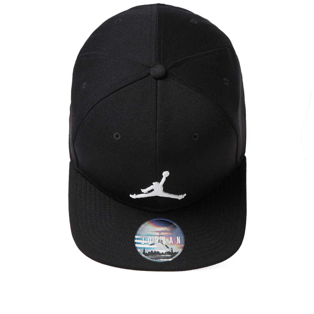 a0dfcce3f076a Nike Jordan Jumpman Snapback Cap Black   White