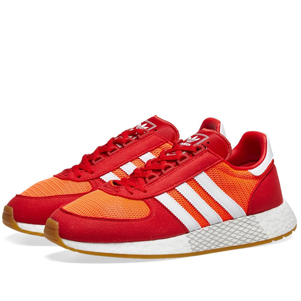 Adidas Marathon Tech Solar Red | END.