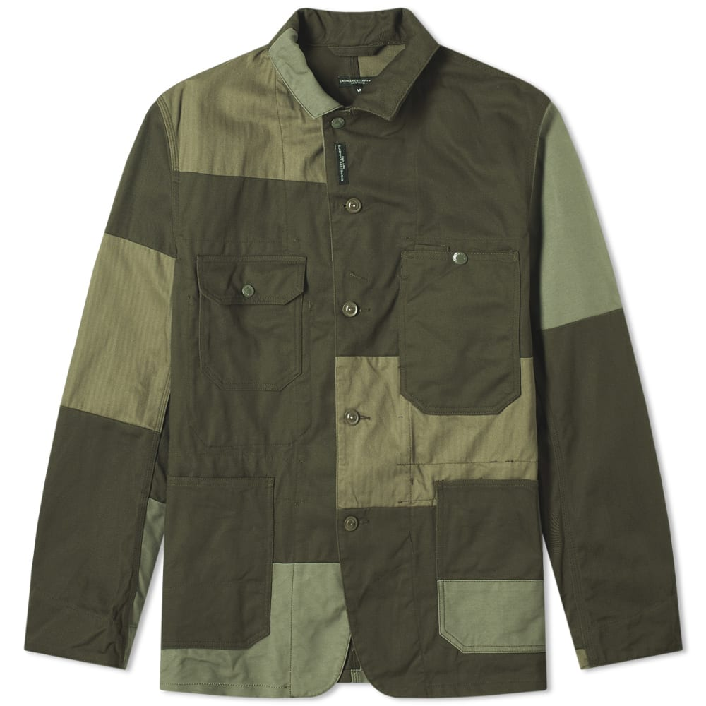 Engineered Garments Green Logger Jacket