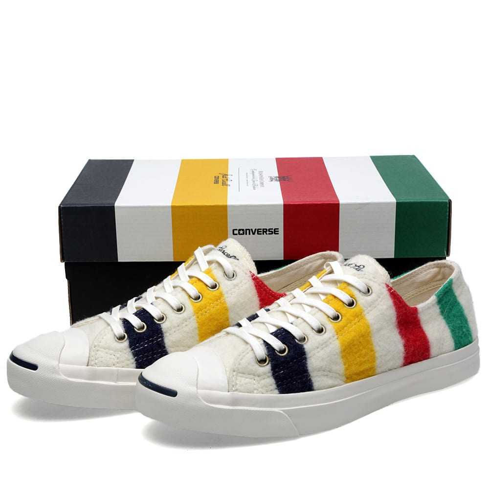 8024779ef Converse First String x Hudson s Bay Company Jack Purcell LTT Ox. Snow White