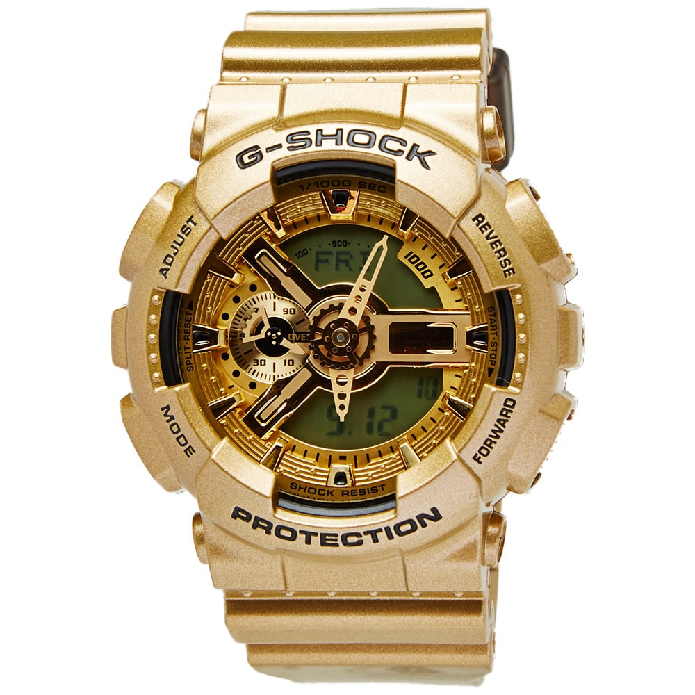 casio g shock ga 110gd 9aer watch gold. Black Bedroom Furniture Sets. Home Design Ideas