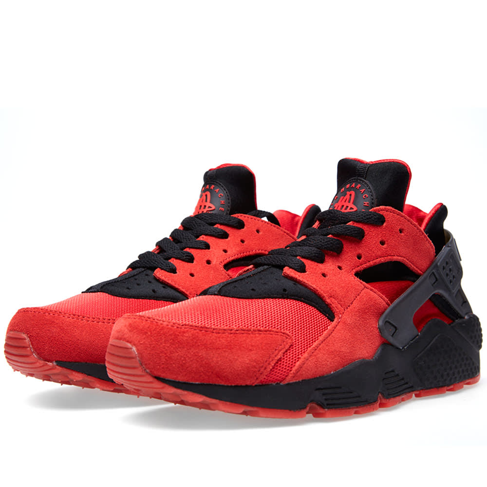 super popular c82ba bc748 Nike Air Huarache QS  Love Hate  University Red   Black   END.