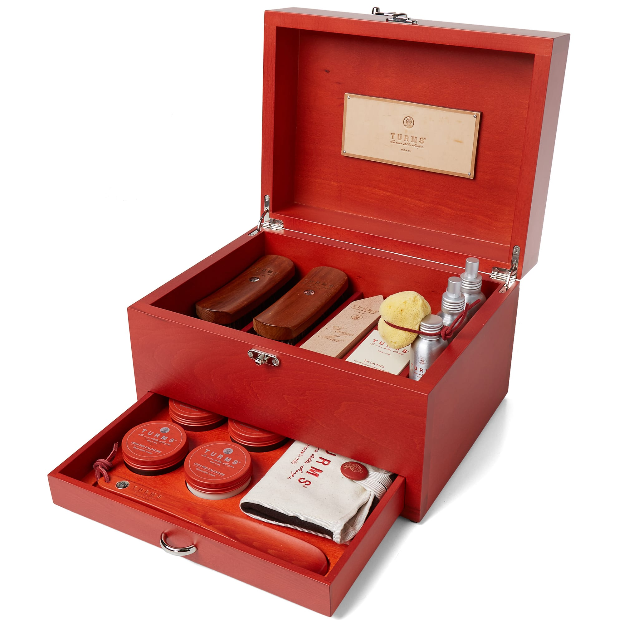 TURMS Turms Wooden Care Case in Red
