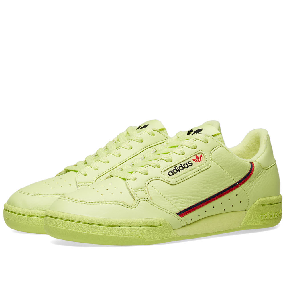 21674f4a37c Adidas Continental 80 Frozen Yellow & Scarlet | END.