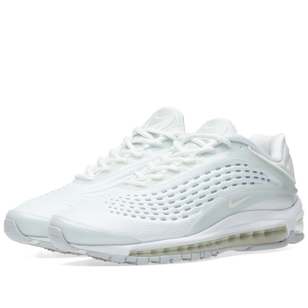 new product 34382 3696c Nike Air Max Deluxe White, Sail   Platinum   END.