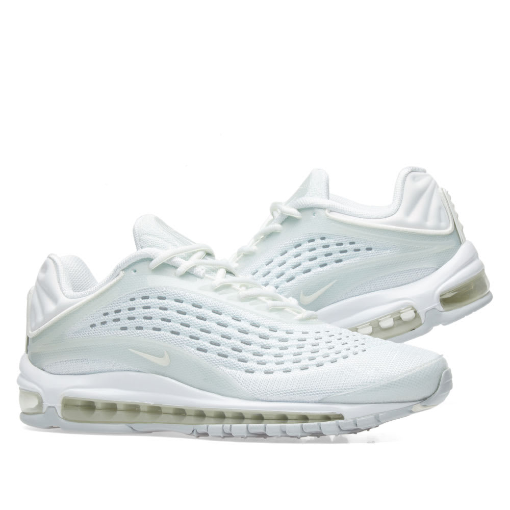 new product bac21 69c79 Nike Air Max Deluxe White, Sail   Platinum   END.