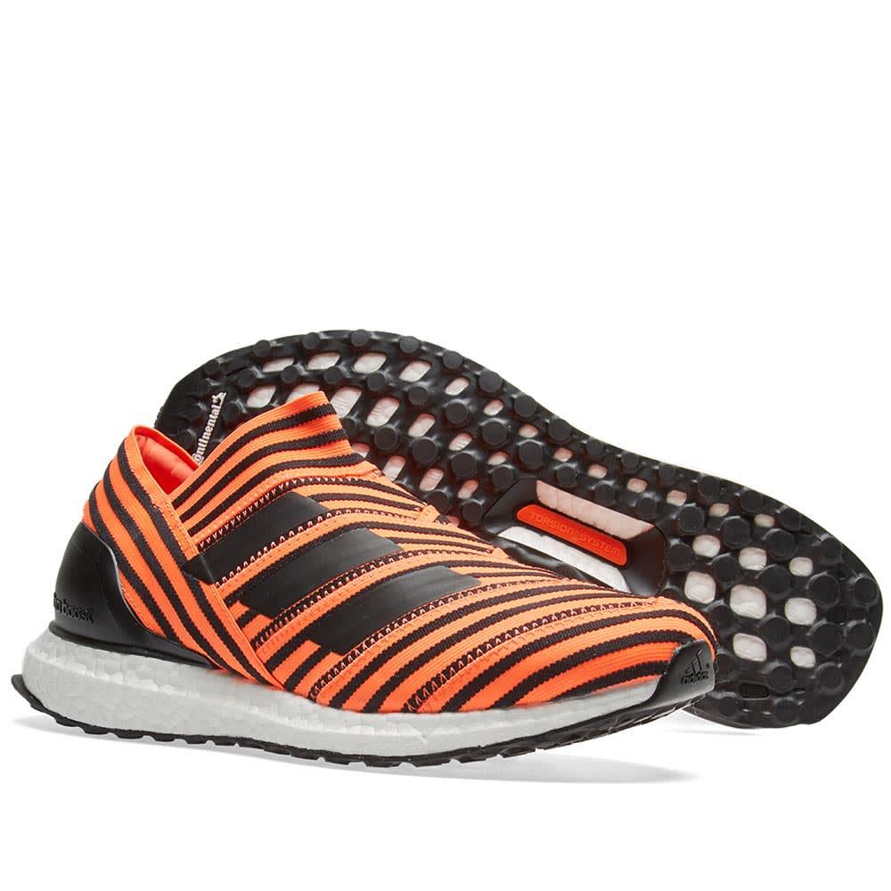 34c165382 Adidas Consortium Nemeziz Tango 17+ 360 Agility Ultra Boost  Solar Orange