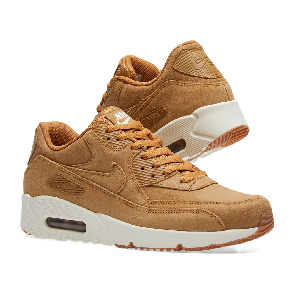 hot sale online 47e2b 1198c Nike Air Max 90 Ultra 2.0 LTR. Flax, Sail   Gum